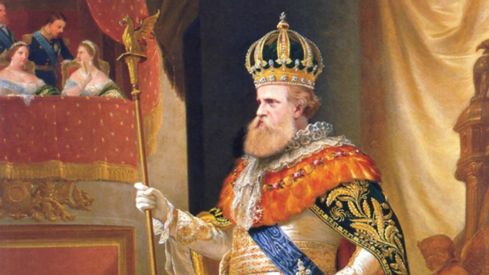 Sua Majestade o Imperador Dom Pedro II, em tela de Pedro Américo.