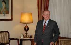 """S.A.I.R. o Príncipe Dom Luiz de Orleans e Bragança, Imperador """"de jure"""" do Brasil (Reprodução/Casa Imperial do Brasil)"""