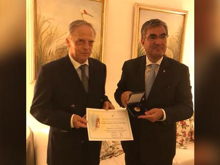 Príncipe Dom Antonio recebe honraria de entidade monárquica portuguesa