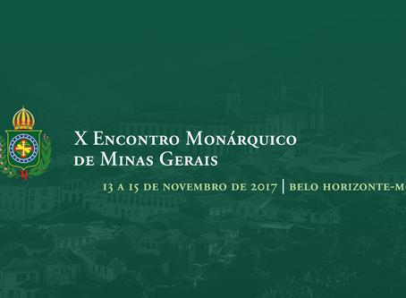 Vem aí: X Encontro Monárquico de Minas Gerais