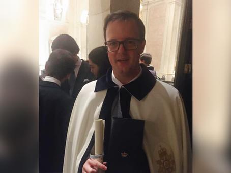 Dom Gabriel é investido Cavaleiro da Real Ordem de N. S. da Conceição de Vila Viçosa