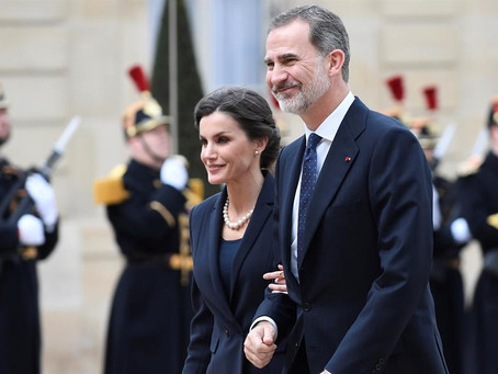 Reis da Espanha testam negativo para o coronavírus