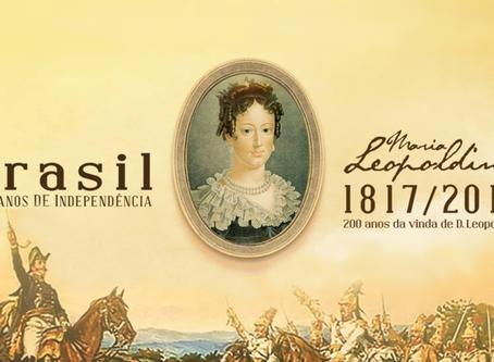 Câmara convida para sessão solene em celebração aos 200 anos da vinda de D. Leopoldina