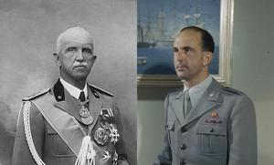 O Rei Vitor Emanuel III, à esquerda, e seu herdeiro, o Rei Humberto II da Itália, à direita: nas monarquias, os filhos muitas vezes pagam pelos erros dos pais