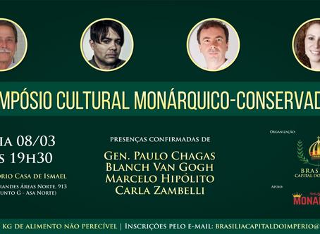 Movimento 'Brasília – Capital do Império' promove simpósio cultural