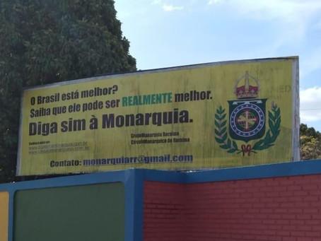 Ação de monarquistas roraimenses repercute na imprensa local