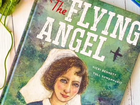 The Flying Angel, by Vicki Bennett, illustrated by Tull Suwannakit