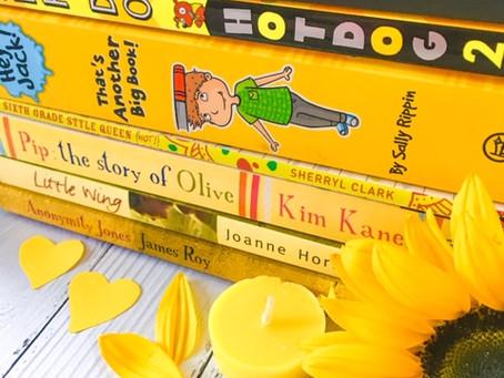 Sunshine yellow books