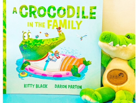 Hachette Kids Readalong: A Crocodile in the Family, by Kitty Black, illustrated by Daron Parton