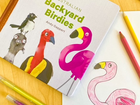 Australian Backyard Birdies, by Andy Geppert