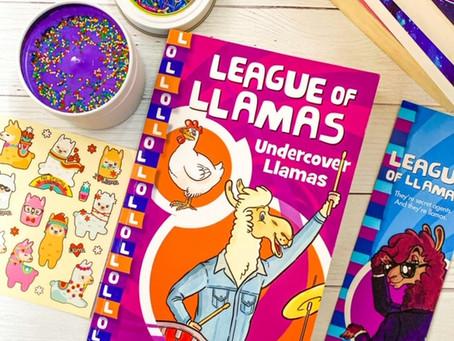 League of Llamas: Undercover Llamas (Book 3), by Aleesah Darlison