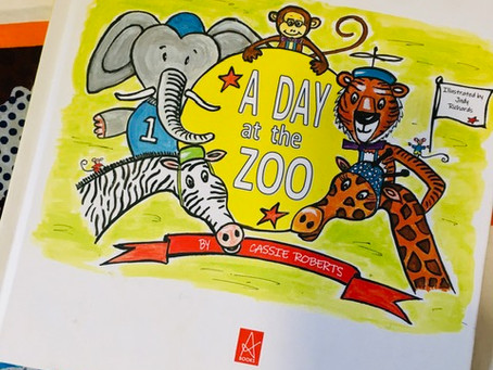 A Day at the Zoo, by Cassie Roberts