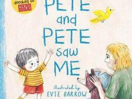 I Saw Pete and Pete Saw Me, written by Maggie Hutchings, illustrated by Evie Barrow
