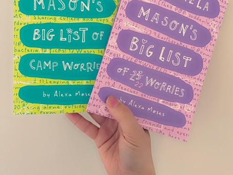Michaela Mason's Big List of 23 Worries/Michaela Mason's Big List of Camp Worries, by Alexa Moses