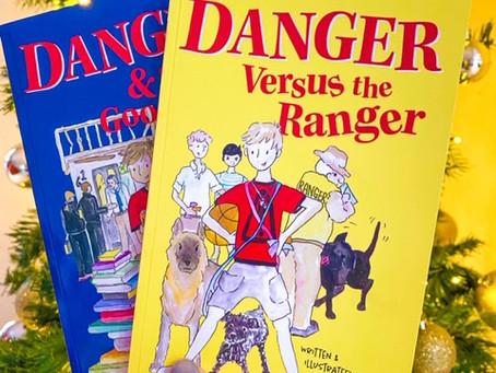 Danger Versus the Ranger, and Danger & The Good Book, written and illustrated by Lindsay Holliday