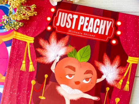 Just Peachy by Michaela Skilney, illustrated by Vikki Chiu