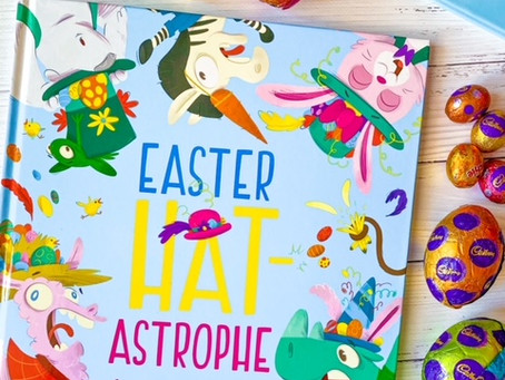 Easter Hat-Astrophe, by Rory H Mather; illustrated by James Hart
