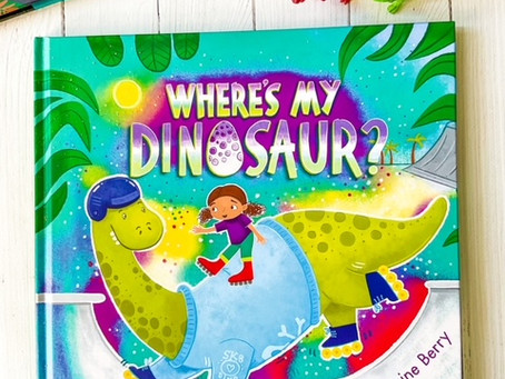 Where's My Dinosaur? by Ashling Kwok; illustrated by Jasmine Berry
