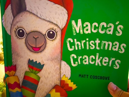 Macca's Christmas Crackers, written and illustrated by Matt Stanton