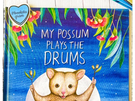 My Possum Plays the Drums by Catherine Meatheringham; illustrated by Max Hamilton.