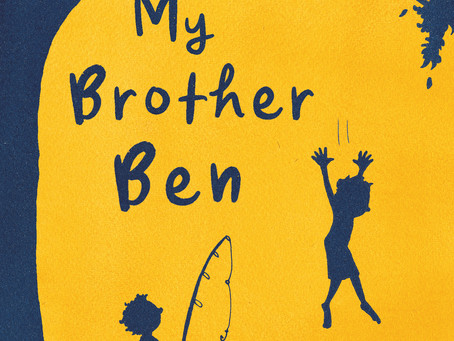Author Q&A: Peter Carnavas (My Brother Ben).