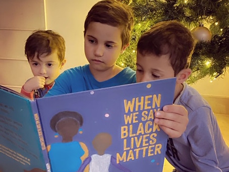 When We Say Black Lives Matter, written and illustrated by Maxine Beneba Clarke