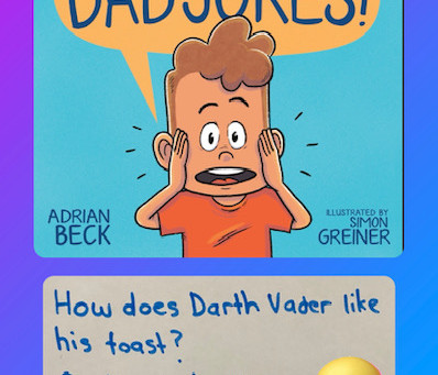 Stop the Dad Jokes, by Adrian Beck & Simon Greiner