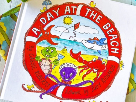 A Day at the Beach, by Cassie Roberts; illustrated by Judy Richards