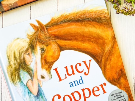 Lucy and Copper, by Mandy Foot