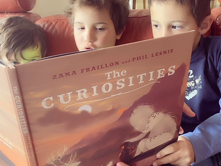 The Curiosities, written by Zana Fraillon, illustrated by Phil Lesnie