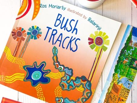 Bush Tracks, by Ros Moriarty