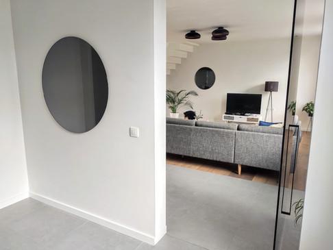 Grijze spiegel