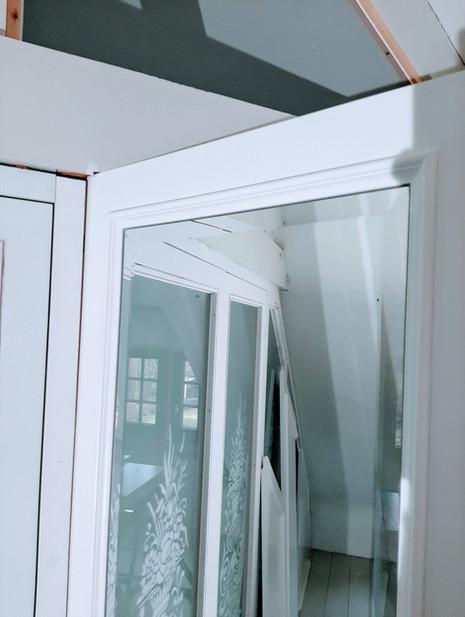 Spiegel met facet