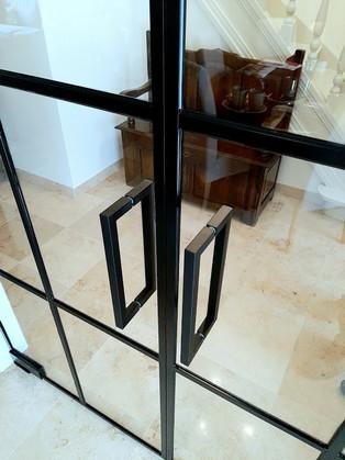 Greep steellook deur
