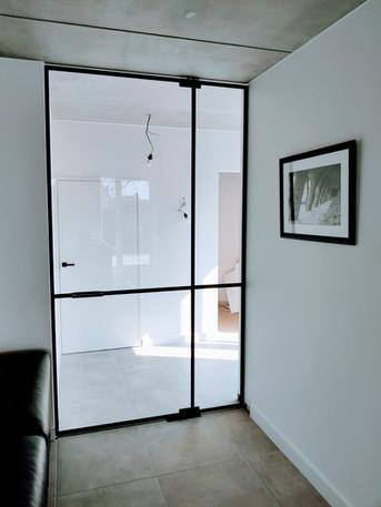 Steellook glazen deur XL