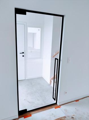 Steellook glazen deur