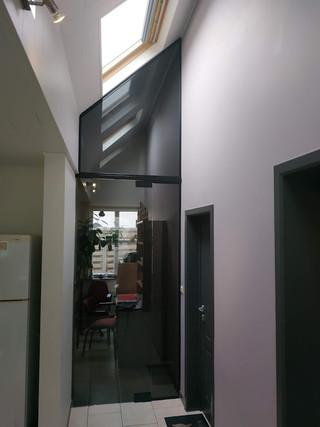 Glazen deurgeheel