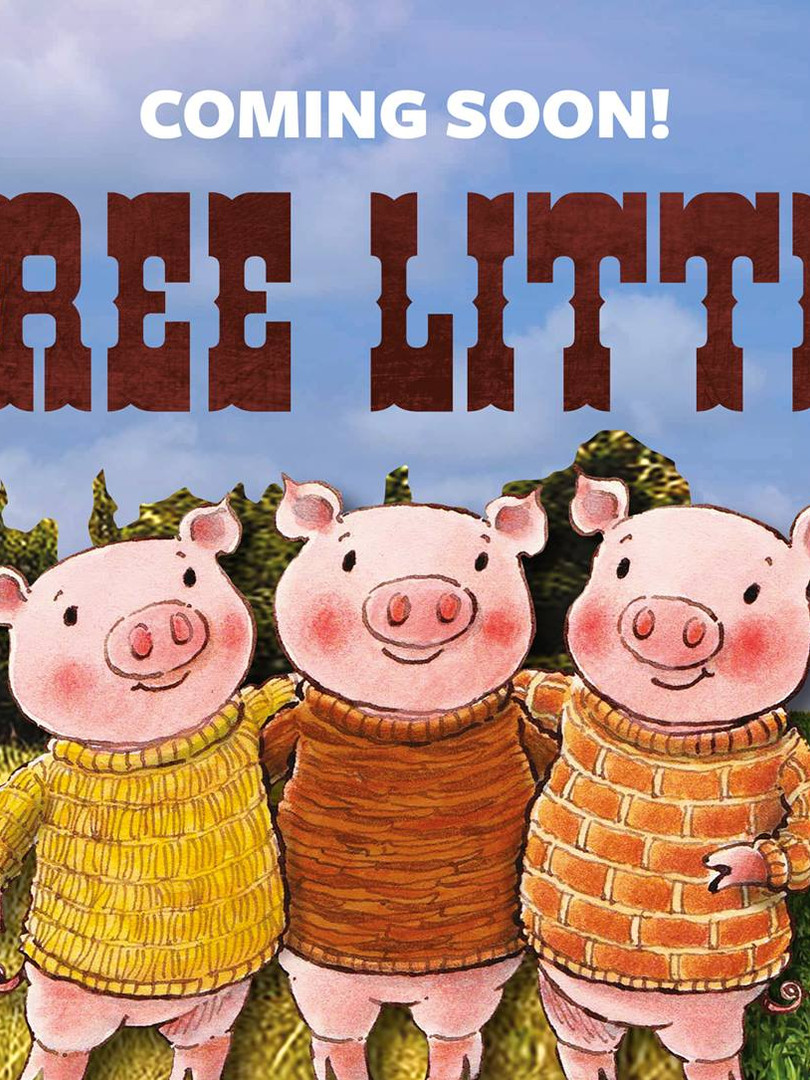 3 Little Pigs Go West Sept 15 - Oct 21 2018