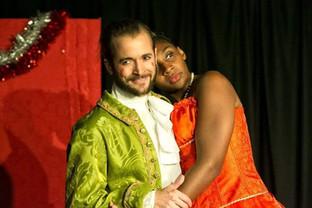 Prince Charming (Hjalmar Norden) and Cinderella (Shireenah Ingram)