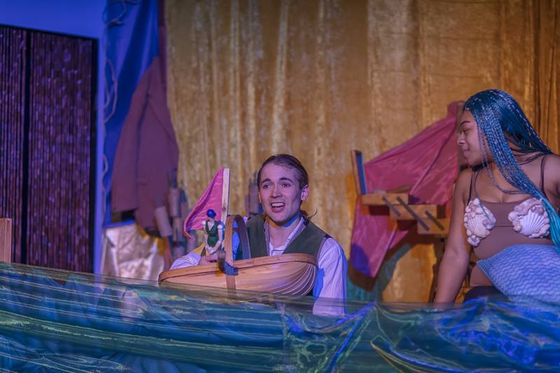 Serael Asphall & Hjalmar Norden in 'The Little Mermaid and Other Tails'