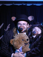Hjalmar Norden & Janet Cost-Chretien in 'Goldilocks & The Three Bears' Sept-Oct '18, Sydenham
