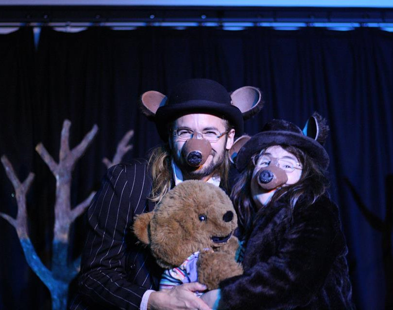 Hjalmar Norden & Janet Cost-Chretien in 'Goldilocks & The Three Bears' Sept-Oct '18, Sydenham
