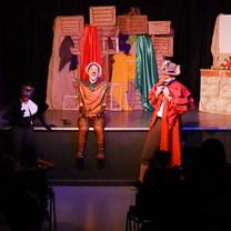 Pinocchio (Valeria Iacampo), Fox (Hjalmar Norden) and Cat (Jimand Allotey)