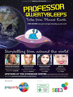 'Professor Qwertybleep's Tales from Planet Earth' 23/6/18, Sydenham