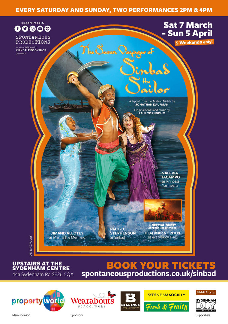 '7 Voyages of Sinbad' Mar-April 2020