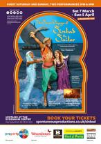 '7 Voyages of Sinbad' Mar-April 2020