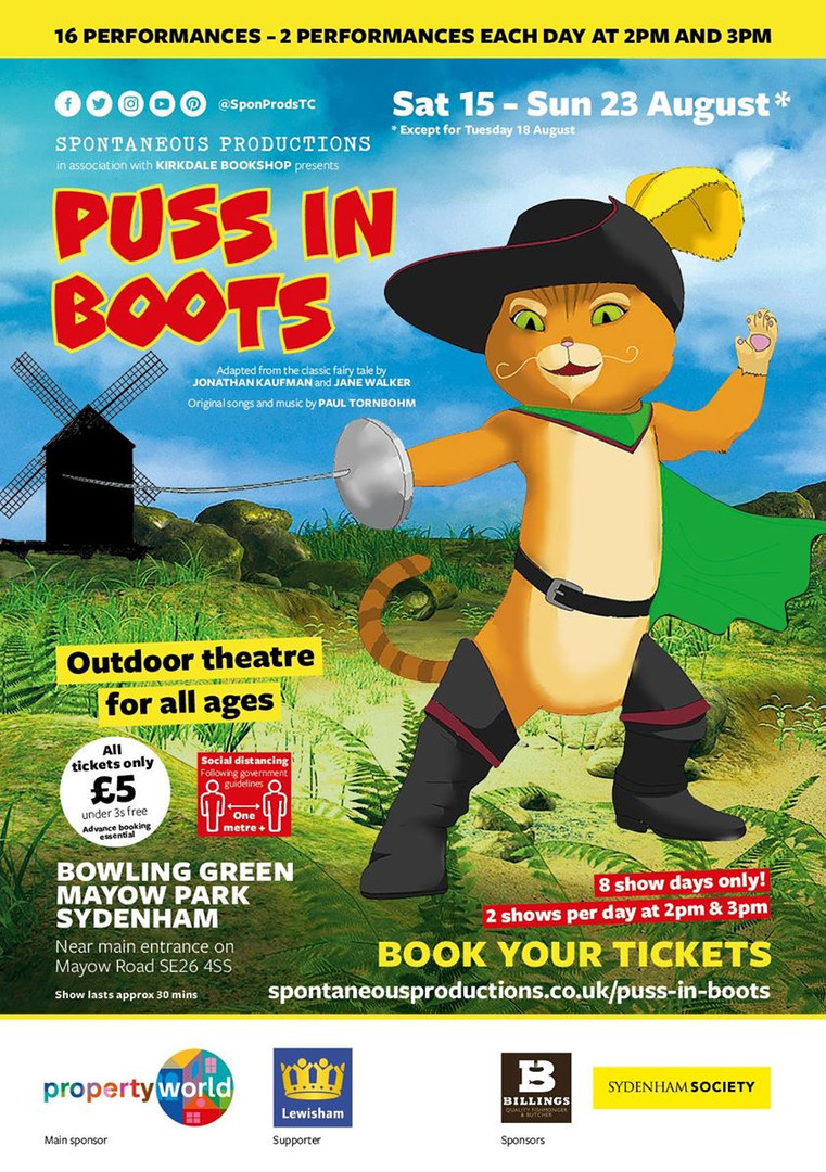 'Puss in Boots' August 2020