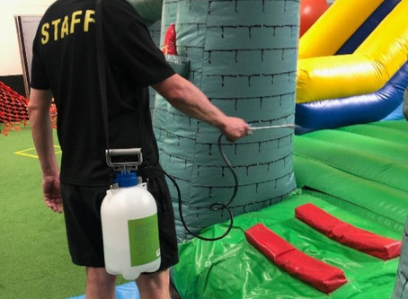 The Rec Club & Inflatable World Covid19 Safety Plan