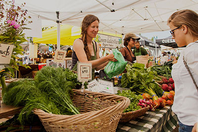 Bondi Farmers market