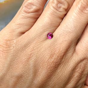 N.3 | Round Shape Pink Tourmaline